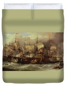 Battle Of Cape St Vincent Duvet Cover