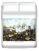 Battle Of New Orleans Duvet Cover
