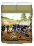 Battle Of Utoy Creek Duvet Cover