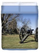 Battlefield At Fredericksburg Duvet Cover