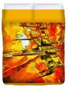 Star Wars X-wing Fighter - Oil Duvet Cover