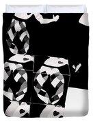 Bauhaus Ballet 2 The Cubist Harlequin Duvet Cover