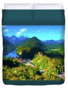 Bavarian Countryside Duvet Cover