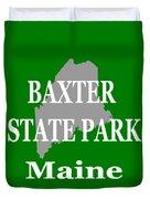 Baxter State Park Pride Duvet Cover