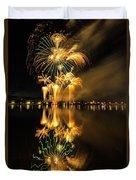 Bay City Fireworks - 2017 - 7 Duvet Cover