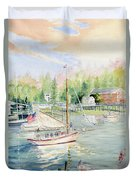 Bay Lady  Duvet Cover