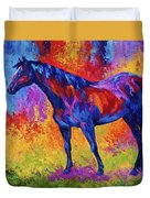 Bay Mare II Duvet Cover