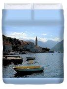 Bay Of Kotor Duvet Cover