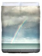 Bay Of Rainbows Duvet Cover