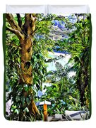 Bay View Tobago Duvet Cover