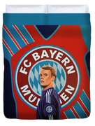 Bayern Munchen Painting Duvet Cover