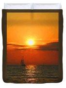 Bayfield Sunset - 1 Duvet Cover