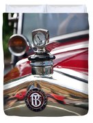 Bayliss Thomas Badge And Hood Ornament Duvet Cover