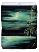 Bayou By Moonlight Duvet Cover