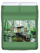 Bayou Cabin Duvet Cover
