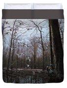 Bayou Meto Morning Duvet Cover