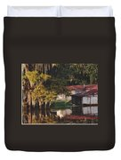 Bayou Shack Duvet Cover