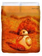 Bb-8 In The Desert - Da Duvet Cover