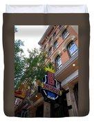 Bb King Bar Nashville Duvet Cover