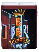 Bb King's Blues Club Duvet Cover