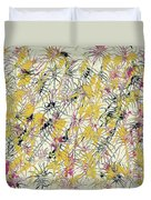 Bumble Bees Against The Windshield - V1cs65 Duvet Cover