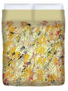 Bumble Bees Against The Windshield - V1ls75 Duvet Cover