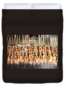 Bbq Asian Grilled Squid In Kep Market Cambodia Duvet Cover