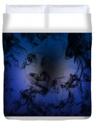 Be Calm And Love Art Duvet Cover