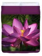 Be Like The Lotus Duvet Cover by Cindy Lark Hartman