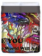 Be You. Duvet Cover by Darren Cannell