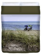 Beach Afternoon Duvet Cover