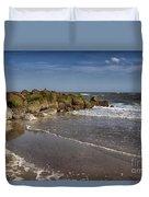 Beach At Tybee Duvet Cover
