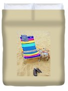 Beach Attire Duvet Cover