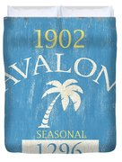 Beach Badge Avalon Duvet Cover