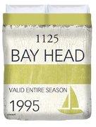 Beach Badge Bay Head Duvet Cover