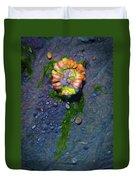Beach Barnacle Flower Duvet Cover