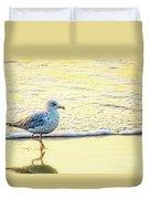 Beach Bird Duvet Cover