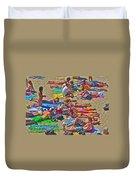 Beach Blanket Bingo Duvet Cover
