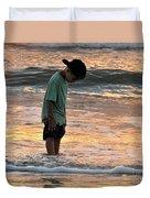 Beach Boy Duvet Cover