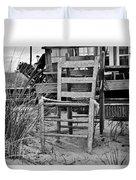 Beach Chair Duvet Cover