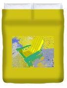 Beach Chair Work Number Six Duvet Cover