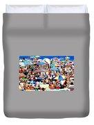 Beach Chaos Duvet Cover