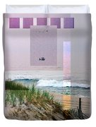 Beach Collage 3 Duvet Cover