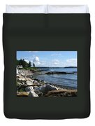 Beach Combers Duvet Cover