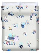 Beach Confetti Duvet Cover