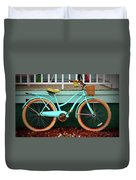 Beach Cruiser Bike Duvet Cover