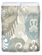 Beach Curry I Ikat Duvet Cover by Mindy Sommers