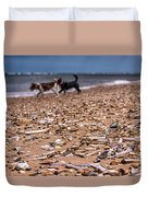 Beach Dogs Duvet Cover