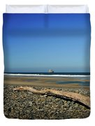 Beach Driftwood Duvet Cover