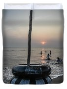 Beach Evenings Duvet Cover